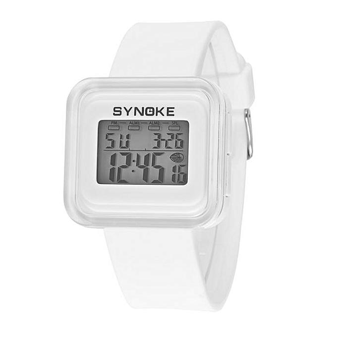 095de4c51 Generic Koaisd Silicone LED Light Digital Sport Wrist Watch Kid Girl ...