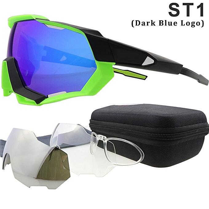 dae08a1f81 Cycling Glasses Cycling Eyewear 3 Lens Polarized Cycling Sunglasses UV400 Bike  Bicycle MTB Cycling Goggle ...