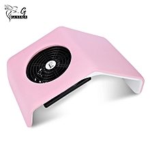 30W Nail Suction Dust Collector Manicure UV Gel Tip Machine Vacuum Cleaner-PINK