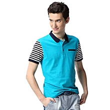 Men's Polo Shirt With Stripes