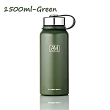 Double Walled Vacuum Insulated Stainless Steel Water Drinks Bottle Spill Proof