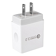 Quick Charging QC3.0 Travel Home AC Wall Single Port USB Charger Adapter For Samsung Nexus 6 US Plug
