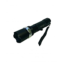 POLICE Rechargeable LED Torch / Flashlight - Black