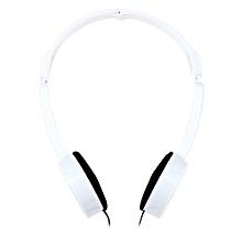 Retractable Foldable Kids Headband Earphone With Mic Stereo