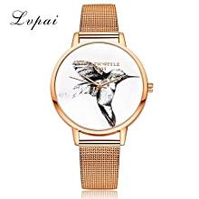 Luxury Women's  LVPAI Wrist Watches  Watches Women Quartz Wristwatch Clock Ladies Dress Gift Watches- Rose Gold