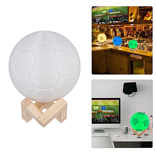 Generic 7 Color World Soccer Game Football Lamp Soccer Led Night