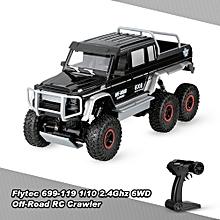 699-119 6WD 2.4G 1/10 Rock Crawler RC Buggy Car Children Gift Kids Toy