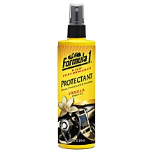 Formula1 High Performance Protectant – Vanilla Fragrance Protectant 10/04 oz (315 ml)-Cleans Car Interiors and Exteriors – Shines and Protects