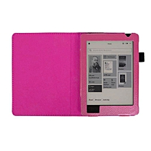 Leather Folding Stand Painted Case Cover For Kobo Aura H2O Edition 2 6.8inch PK