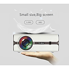 2000 Lumens Home Theater Projector - US Plug - White
