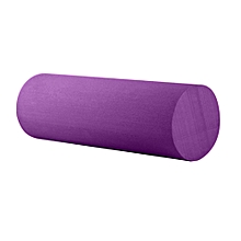 45cm Yoga Pilates Massage Fitness Gym Solid Glossy Yoga Column Roller