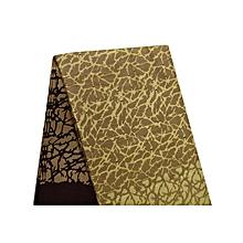 Golden Brown with design African Wax Kitenge