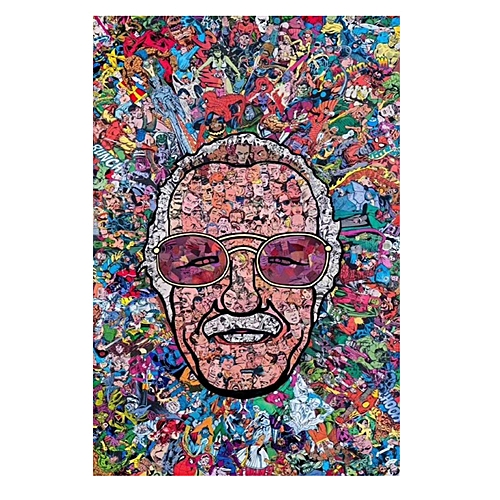 Generic Stan Lee Movies Super Heroes Poster Wallpaper Wall Art Home