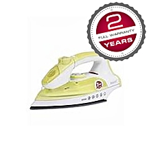 ST-CC0222 - Dry/Steam Iron - 2000W - White & Green