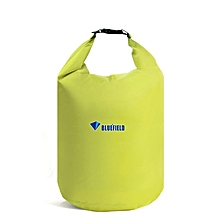 70l Outdoor Polyester Cloth Trekking River Drifting Waterproof Bag Ultralight Swimming Bag  (pea Green)