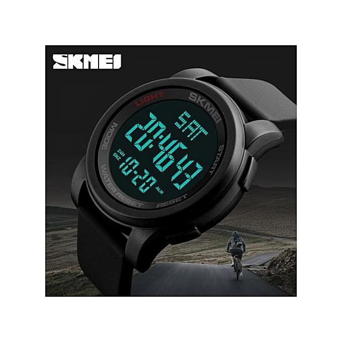 ... Man Military Wristwatches Relogio Masculino 1257 · 2017 New Popular Top Luxury Brand SKMEI Men's LED Digital Watches Chrono Countdown Men Sports Watches