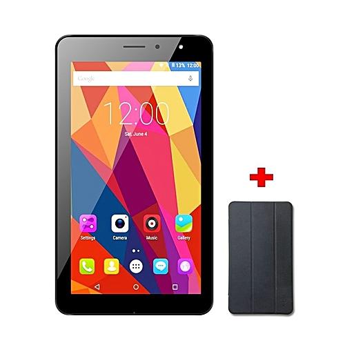 "Joy7 Max - 7"" - 16GB -1GB RAM - 5MP - Dual SIM - 3G - Black + Flip Cover"