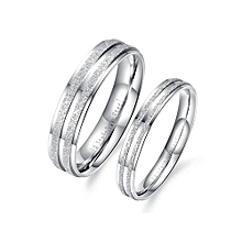 Steel High Quality Couple Wedding Ring