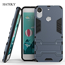 For HTC Desire 10 Pro Case Shockproof Robot Armor Case Hybrid Silicone Rubber Hard Back Phone