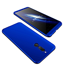 GKK Huawei Mate 10 Lite PC Three Stage Splicing 360 Degrees Full Coverage Case(Blue)