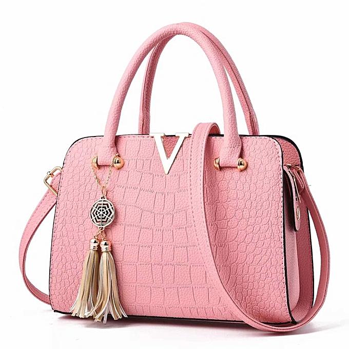 Classy Las Handbag Pink