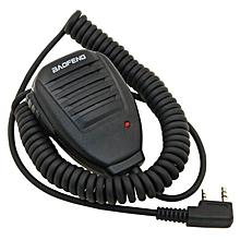 Baofeng PTT Handheld Walkie Talkie Microphone