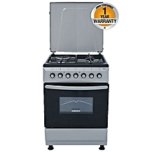 GC-F6631FX(SL) - 3 Gas-1 Electric Cooker - Silver