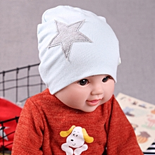 963bb7072b109 jiuhap store Cute Infant Baby Girls Boys Cartoon Star Print Sleep Cap  Headwear Hat-Light