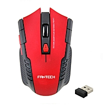 2.4Ghz Mini portable Wireless Optical Gaming Mouse For PC Laptop -Red