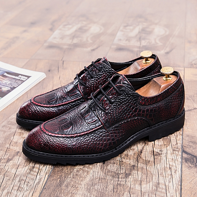 Generic Fashion Men Leather Shoes Formal Shoes Oxford Casual Shoes
