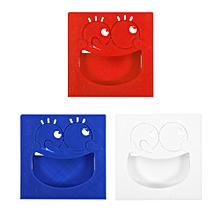 YahBoom Blue/Red/White Big Mouth Pattern Silicone Protective Case for Micro: bit Development Board