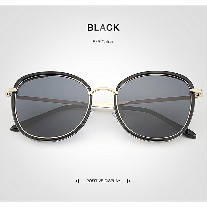32cd023c23829 New Mirror Round Cat Eye Polarized Sunglasses Sun Glasses Wome Latest Brand  Designer Sun Glasses for