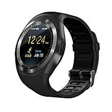 Executive Bluetooth Smart Watch  With SIM Card Slot - Black