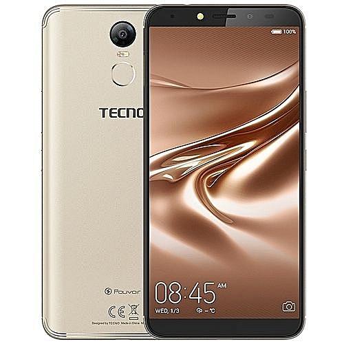 Pouvoir 2-  6.0'' HD - 16GB+2GB - 5000mAh Battery- 4GLTE - Dual SIM - Champagne Gold