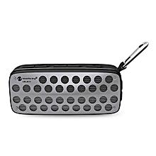 NR - 4011 Waterproof Wireless Bluetooth Speaker Stereo Sound Player-BLACK