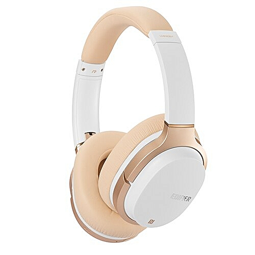 W830BT HIFI Noise Isolation Bluetooth 4 1 Wireless Headphone Ship to Russia  with Microphone Headset Support NFC Apt-X(White)