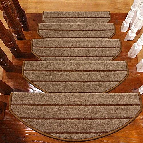 Stair Mat Hotel Restaurant Home Non-Slip Stair Treads Carpet Anti-Skid Step  Rug