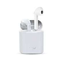 TWS Bluetooth Earphones True Wireless Earbud Headset For Apple Headphones IPhone Android Charging Box Samsung White