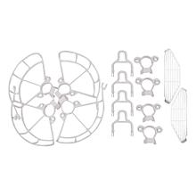 DJI SPARK Anti-collision Ring Extended Tripod Finger Guard Sets White