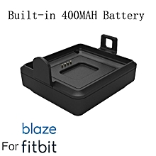 400Mah Power Wireless Charging Cradle Charger Dock for Fitbit Blaze Smart Watch
