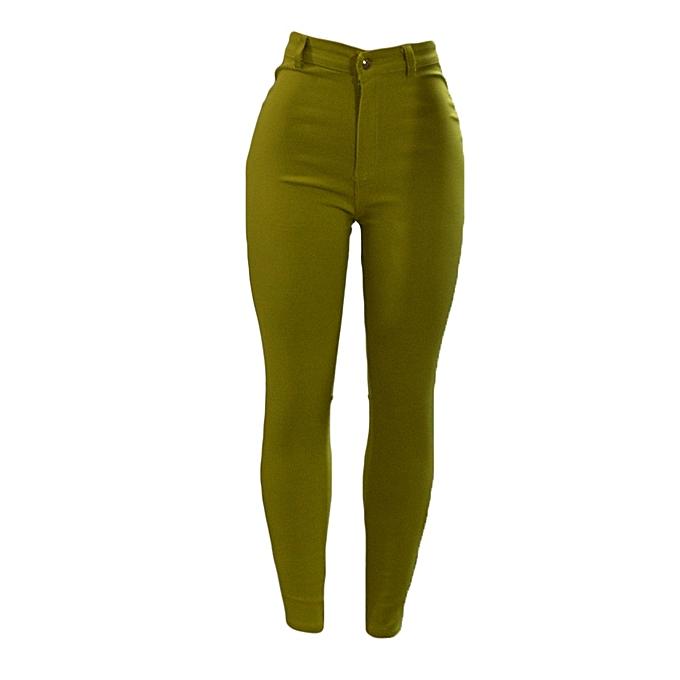 ce9754164f Mustard Green Ladies Jeggings