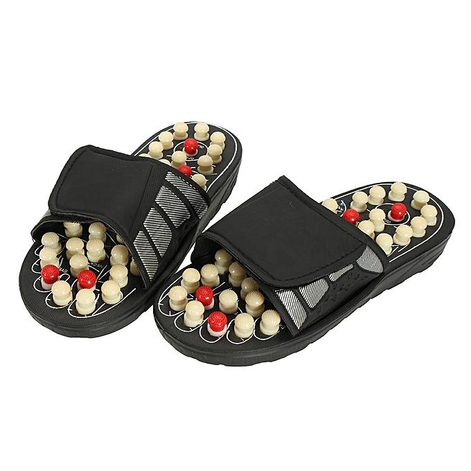 bf949922593c Reflexology Sandals Foot Massager Slipper Acupressure Foot Acupuncture Shoes   38-39-EU
