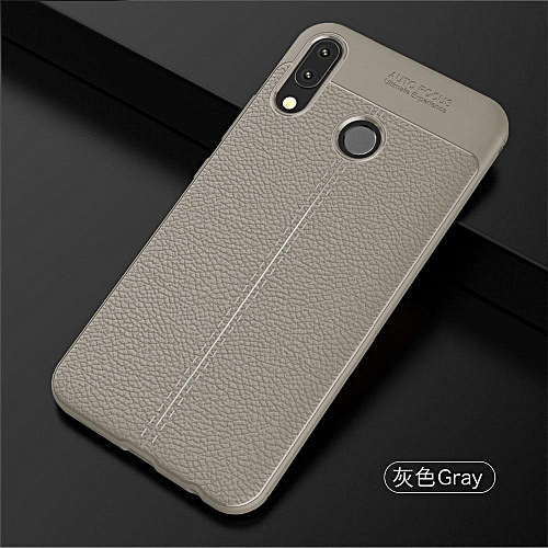 new york ff4e5 da2ef For Asus Zenfone 5 Case Soft Cover Protective Casing For Zenfone 5 ZE620KL  Leather Cover (Grey)