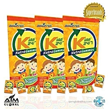 Kiddi Gummy C24/7 Nutra-Ceutical for Children with Diabetes