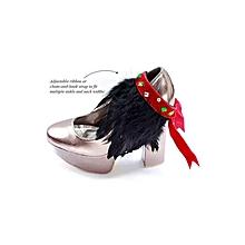 NGOMA Feather Cuff - Multi Purpose Jewellery - Onyx Dazzle