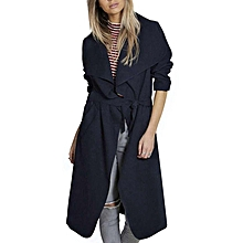 Women's Cashmeres Coats - Royalblue