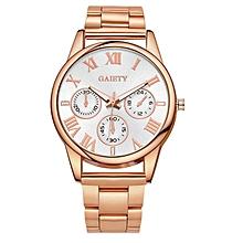 G105 Fashion Luxury Stainless Steel Gold Luxury Women Watch-ROSE GOLD