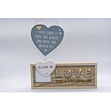 Love Photo Frame And Wall Hanging
