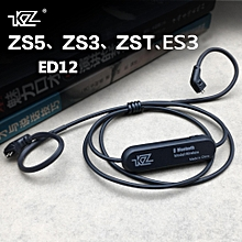 KZ Bluetooth Cable 4.2 Wireless Advanced Upgrade Module 85cm Cable For KZ ZST/ED12/ZS10/ED4 Earphones  XYX-S