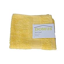 Face Towel - 400 GSM - 33cm x 33cm - Lemon